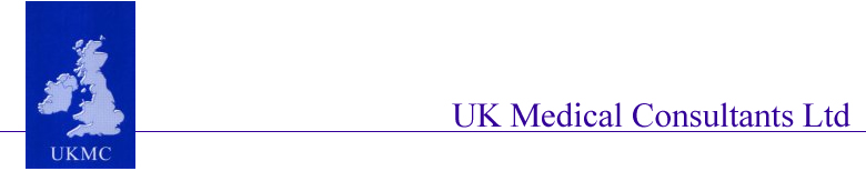 UK Medical Consultants Title and Logo